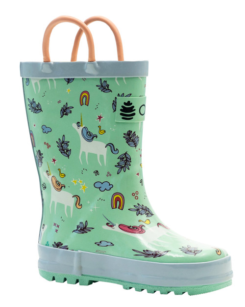 Snooty Unicorn Rainboots