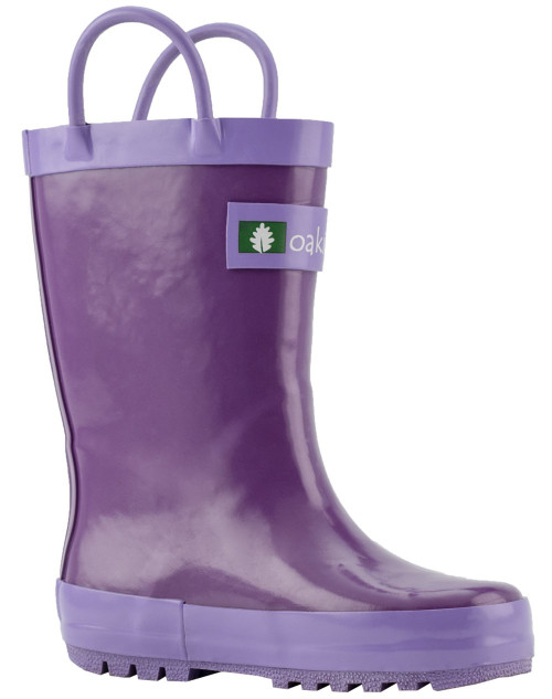 Purple Orchid Rainboots