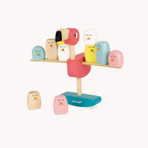 janod Flamingo Stacking Game