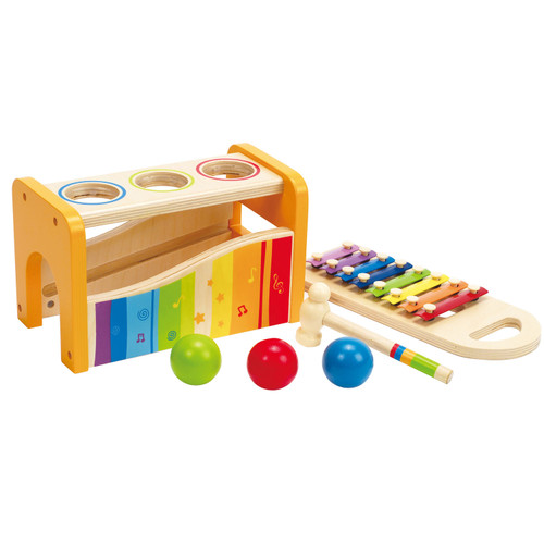 Hape Pound & Tap Bench 1yrs+