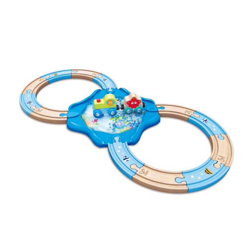 Hape Undersea Train Track 2+
