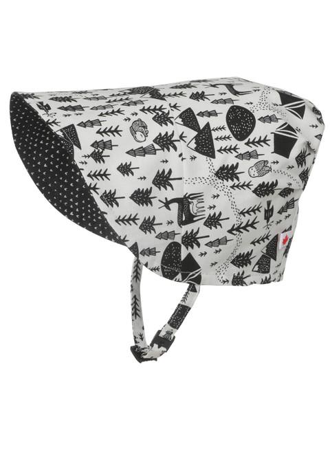 Nature Hug Bonnet || Nature Hug Bonnet, Side View with Brim