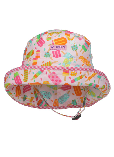 Ice Pops Adjustable Sun Hat ||  Ice Pops Adjustable Sun Hat, Front View