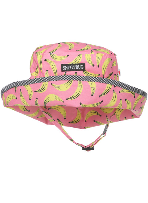 Bananarama Adjustable Sun Hat || Bananarama Adjustable Sun Hat, Front View