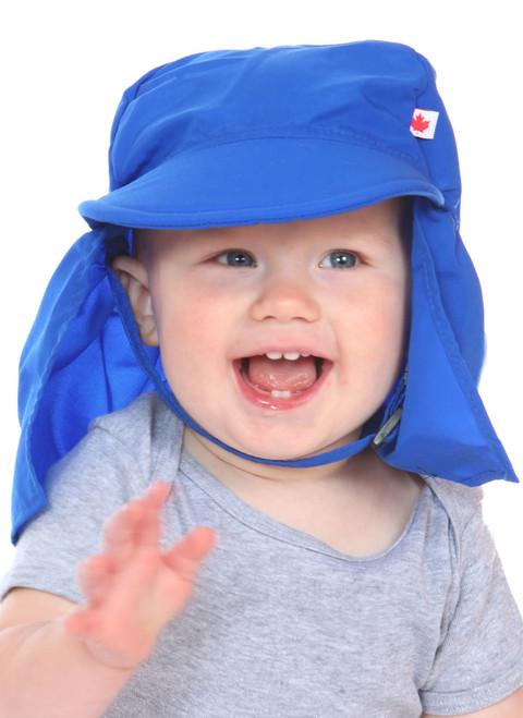 Royal UPF 50+ Beach Hat || Oliver, 14 months old is wearing size 1-2 years.