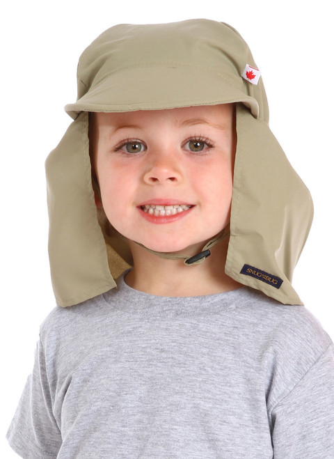 Tan UPF 50+ Beach Hat || Jaxon, 3 1/2 yrs old is wearing size 2-4