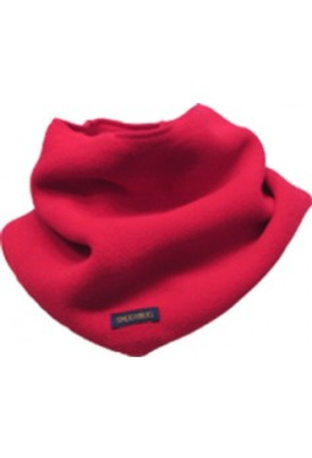 red snug as a bug kids adjustable scarf