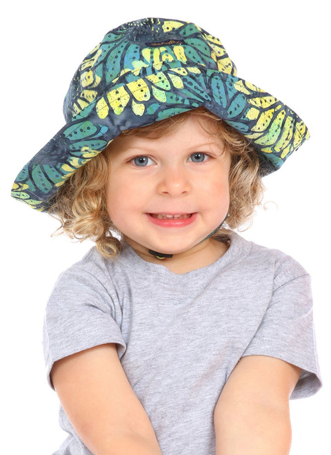 Scenic Route Adjustable Sun Hat || Sophie, 3 yrs old is wearing size 2-8