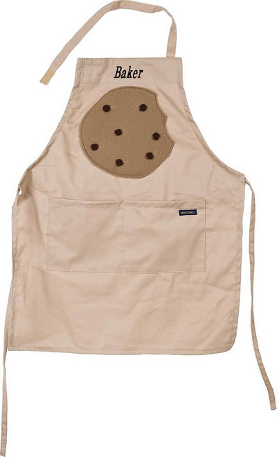 Tan Chocolate Chip Cookie Apron