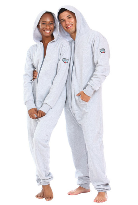 Cement Footless Onesie