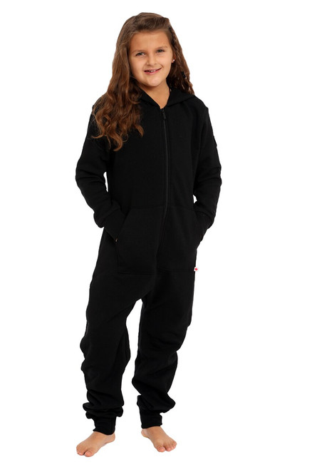 Black Footless Onesie