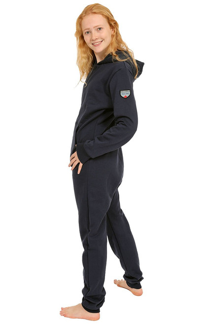 Navy Footless Onesie