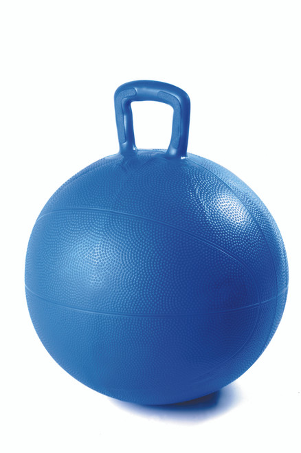 Blue Hop 'n Bounce ball