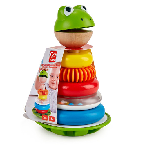 Hape Mr. Frog Stacker