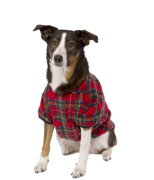 Christmas Plaid Pet Snuggle Suit