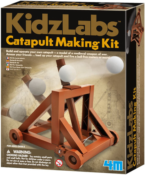 Catapult Making Kit  8yrs+