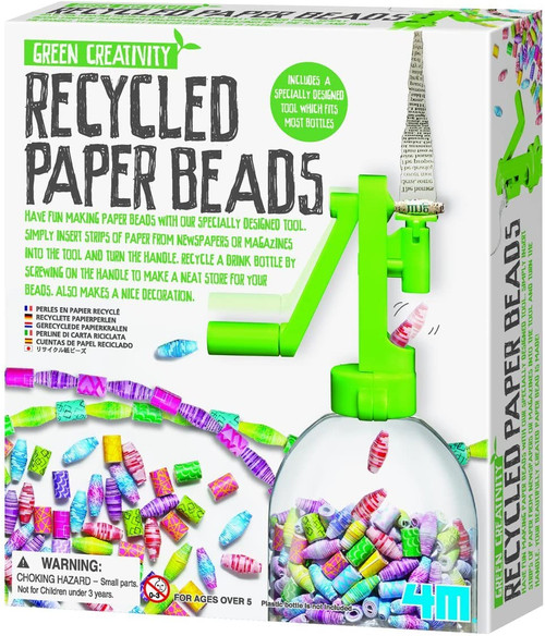 Recycled Paper Beads Kit 5+
