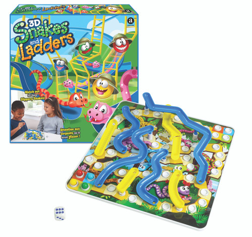 3D Snakes and Ladders 5yrs+