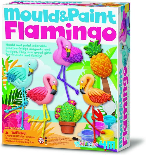 Mould and Paint-Flamingos