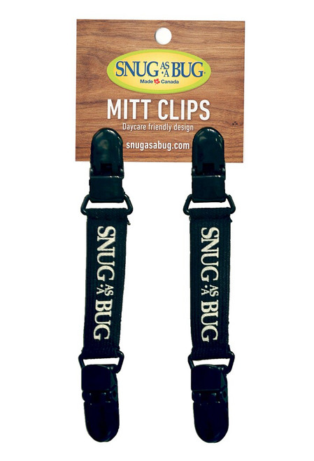 Double-Ended Mitt Clips