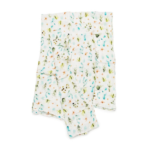 Muslin Swaddle-Cactus Floral