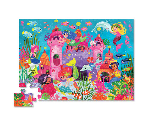 36 Pc. Puzzle-Mermaid Palace