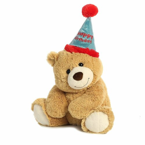 "Birthday Bear-12"" sitting"
