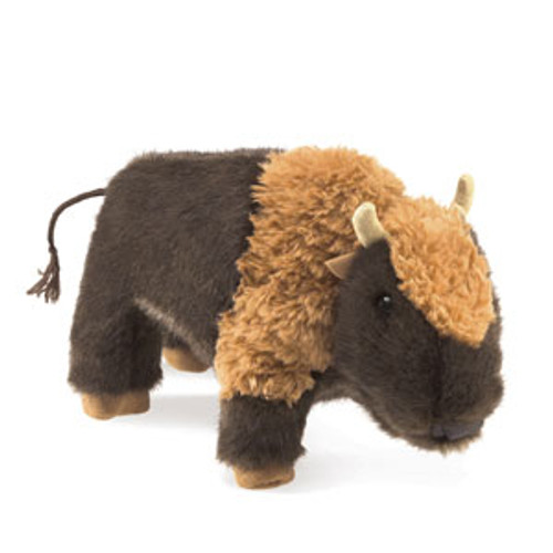 "Small Bison Puppet-10"" long"