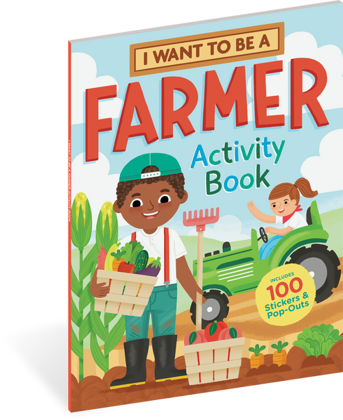 I want to be a farmer sticker activity book