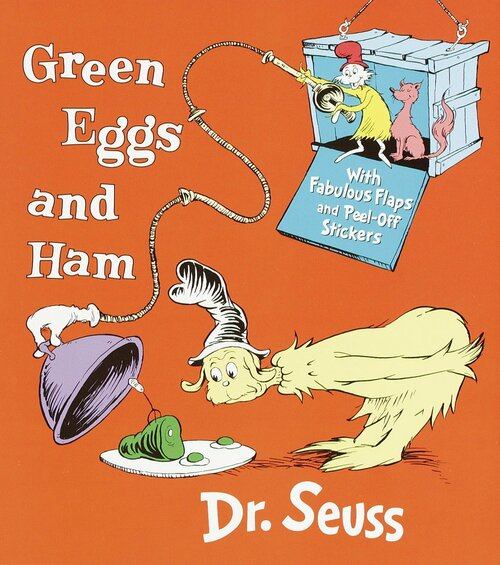 Green Eggs & Ham Nifty Lift Book