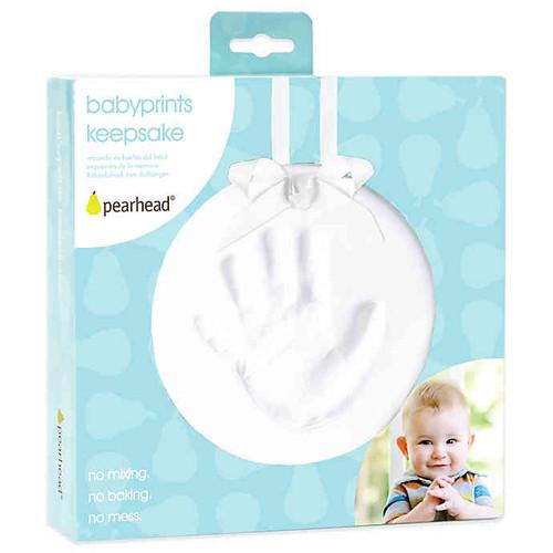 Pearhead babyprints keepsake kit in box