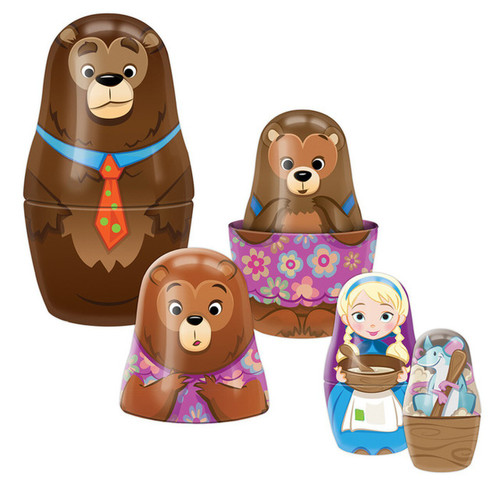 Goldilocks Nesting Dolls 3yrs+
