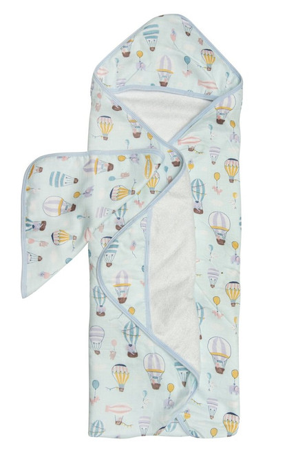 Loulou Lollipop Hooded Towel Set-Up and Away