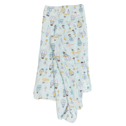 Loulou Lollipop Muslin Swaddle-Up and Away