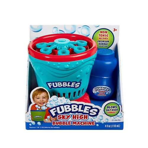 Fubbles Sky High Bubble Machine turquoise