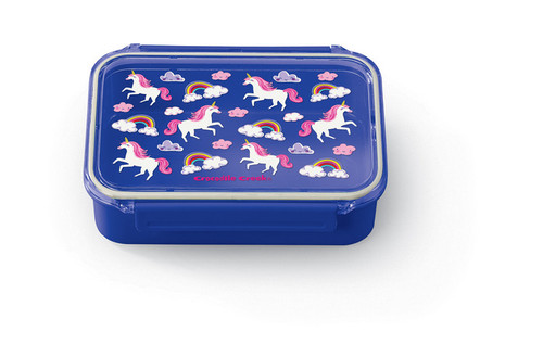 Crocodile Creek Bento Box, Unicorn, purple