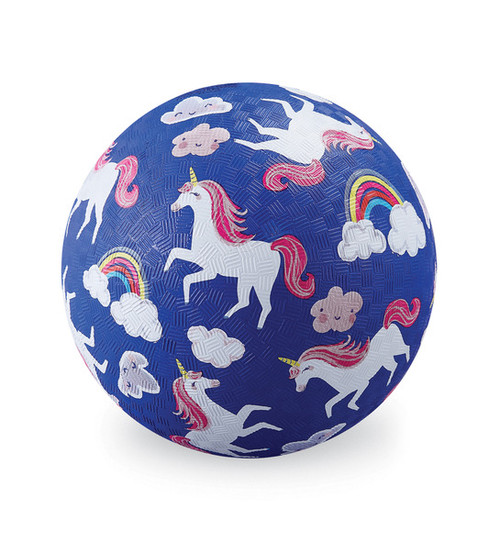 "Crocodile Creek 5"" Playball, Unicorn, purple"