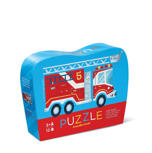 Crocodile Creek 12 pc. puzzle Fire Truck