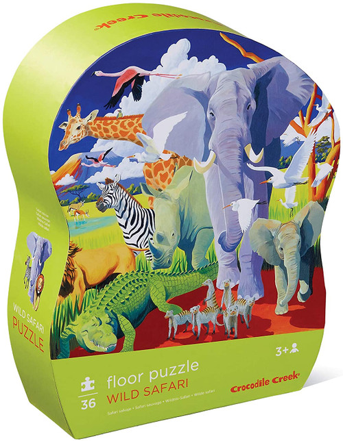 Crocodile Creek 36 pc. puzzle Wild Safari