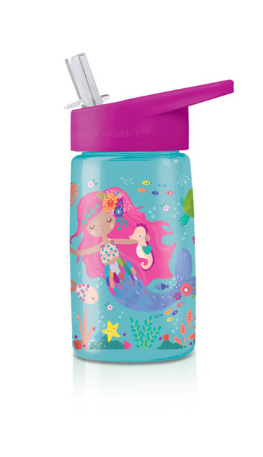 Crocodile Creek tritan water bottle mermaids
