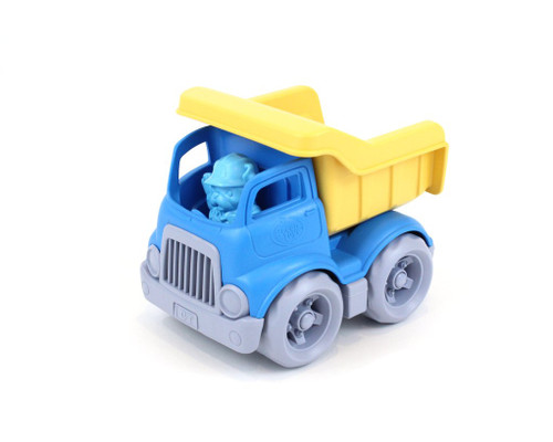 Green Toys Dump truck, blue and yellow