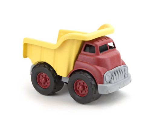 Green Toys large dump truck red and yellow