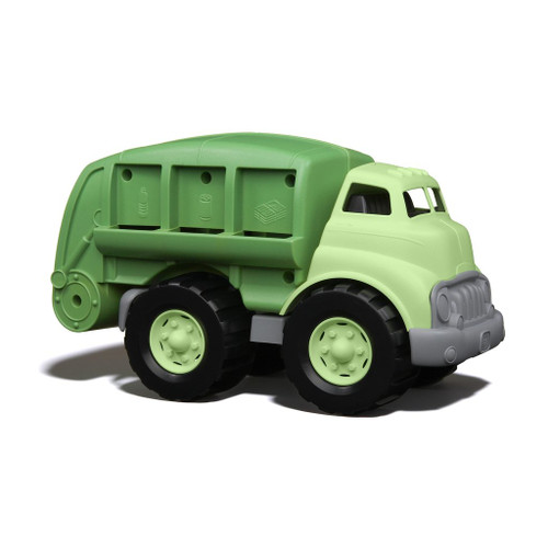 Green Toys recycling truck green