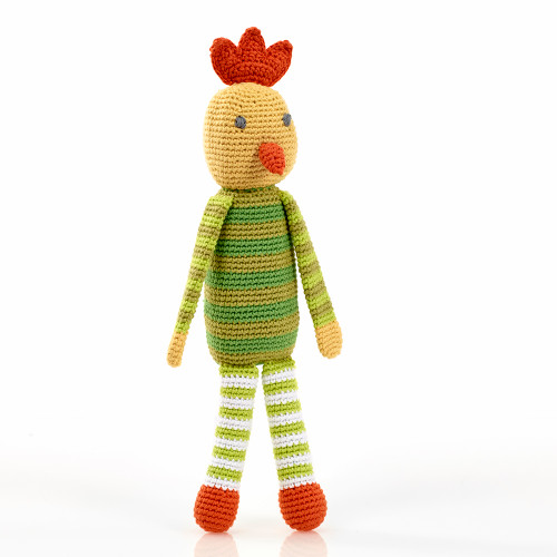 Pebble Chicken Rattle