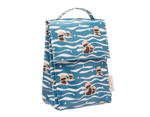 Sugarbooger Classic Lunch Sack, Baby Otter, blue
