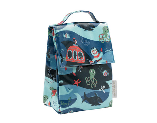 Sugarbooger Classic Lunch Sack, Ocean, blue