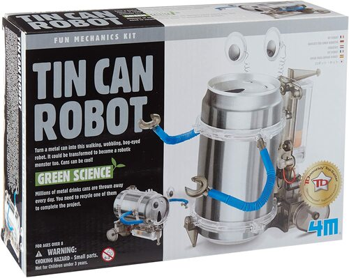 Tin Can Robot  8yrs+