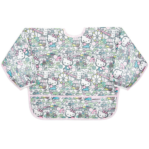 Sleeved Bib 6-24 mon-Hello Kitty