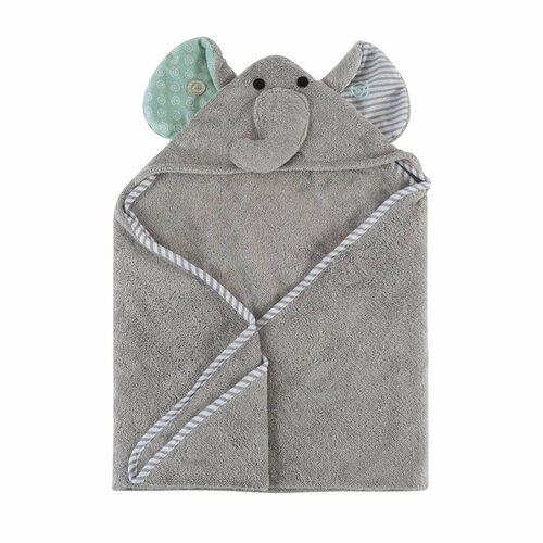 Hooded Baby Towel-Elle Elephant