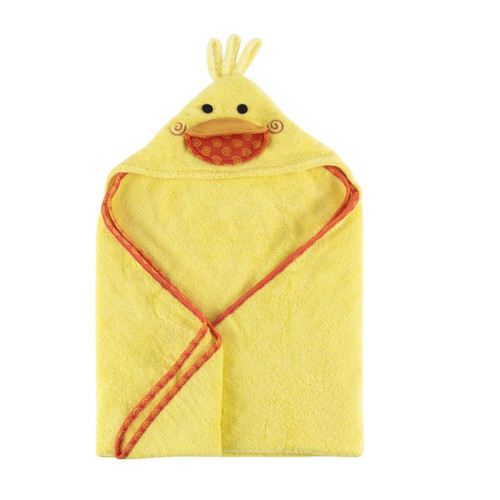 Hooded Baby Towel-Puddles Duck
